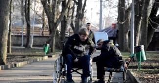 Социальный эксперимент: Кража у инвалида (ВИДЕО)