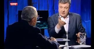Петро Порошенко заступился за Савика Шустера, и за свободу слова в стране вообще
