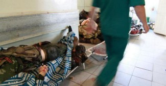 Россияне превратили донецкий госпиталь в морг для своих вояк