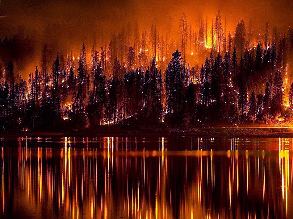 КАРМА! На России сильнейшие пожары Байкала (ФОТО)
