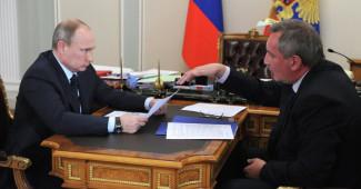 Путин выдал своему вице-премьеру после оторванной ручки армейского авто (ВИДЕО)
