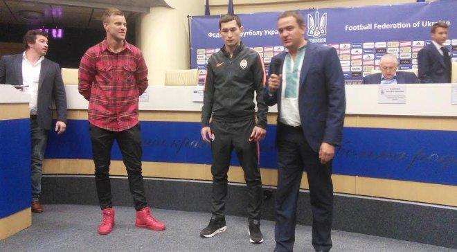 Как Ярмоленко публично помирился со Степаненком (ВИДЕО)