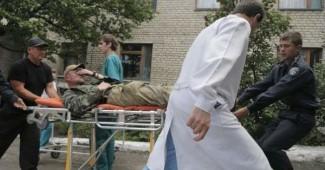 Ночные вылазки боевиков завершились большими потерями, за утро в больницы привезли 14 раненных и 9 погибших