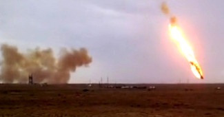 """Падение """"Протона"""" может вызвать огромную экологическую катастрофу в РФ которую скрывают"""
