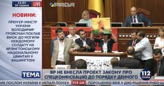НОВЫЙ СКАНДАЛ В РАДЕ! Чорновил так истерически выступала, что не удержалась Савченко (ВИДЕО)