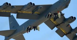 В-52 ВВС США сбросили мини прямо у военной базы Балтийского флота ВМФ РФ