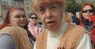 Как ватники в центре Киева злятся, что их не бьют за георгиевскую ленту [ВИДЕО]