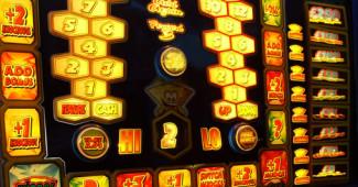 Glowing Slot Machine