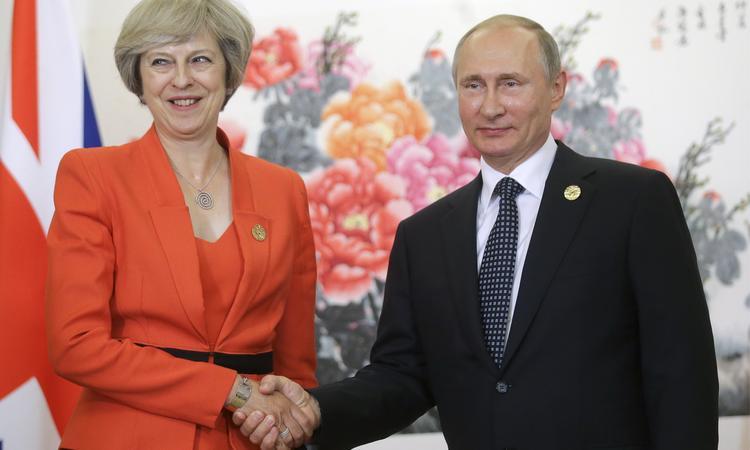 Новый премьер Великобритании Тереза Мэй публично унизила Путина на саммите G20 (ВИДЕО)