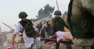 """""""Дебилы бл*ть, по своим же..."""" - российская авиация разбомбила свой же военный лагерь возле Алеппо, есть погибшие! Во всем винят запад (ВИДЕО обстрела с GoPro)"""