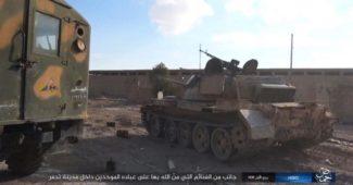 ИГИЛ захватил Пальмиру с множеством российской техники, кацапята бежав бросали всё