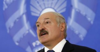 Belarus' President Alexander Lukashenko speaks at a news conference during a presidential election in Minsk, Belarus, October 11, 2015. Belarussians head to the polls on Sunday to cast their vote in presidential elections all but certain to re-elect authoritarian incumbent Alexander Lukashenko for a fifth term. REUTERS/Vasily Fedosenko
