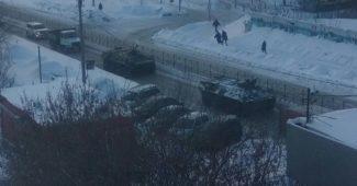 Вот оно обычно демократическое утро накануне протестов на России (ФОТО + ВИДЕО)
