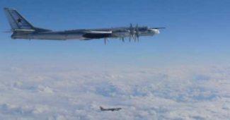 ЯПОНИЯ НА ГРАНИ ВОЙНЫ С РОССИЕЙ! Местные ВВС по экстренном у вызову подняты на перехват трех Ту-95 (КАРТА)
