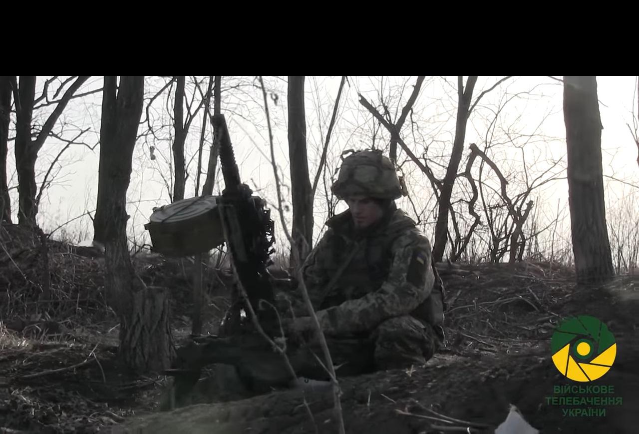 Под Волновахой бойцы ВСУ уничтожили расчет боевиков (ВИДЕО)