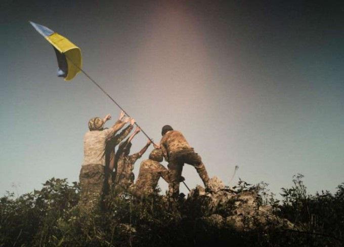 СРОЧНО! ВСУ продвинулись в серой зоне, и установили флаг Украины возле Первомайска (ВИДЕО)