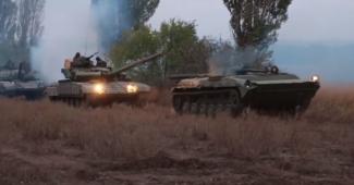 ВСУ засекли, что боевики стягивают танки и ГРАДы к линии фронта на Донбассе