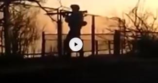 Опубликовано кадры боя с передовой, ВСУ удалось уничтожить более 20 рашистов (ВИДЕО)