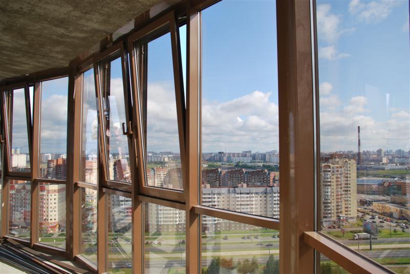 «Теплый» профиль для панорамных алюминиевых окон
