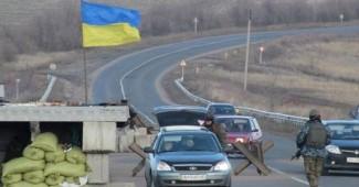 УЖАС! Боевики выложили видео, как расстреливали блокпост ВСУ, на котором было полно гражданских (ВИДЕО)