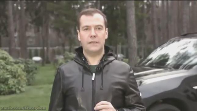 Интернет разрывает коуб с новой видеопародией на Медведева
