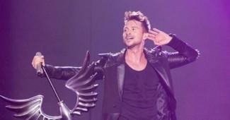 ГРОМКОЕ ПАДЕНИЕ:  Представитель от России громко свалился с декораций во время репетиции на сцене Евровидении 2016 (ВИДЕО)