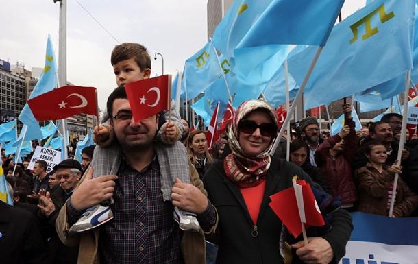 Победная песня Джамалы пробудила Турцию на массовый митинг против Путина, в память о страданиях крымских татар
