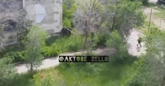 СРОЧНО! Казахстанский спецназ в Актобе уничтожил группу российских боевиков (ВИДЕО БОЯ)