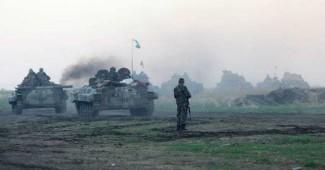 ВНИМАНИЕ! В штабе АТО рассказали об ожесточенных боях под Красногоровкой (ВИДЕО)