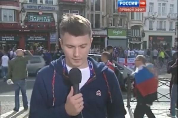 СКАНДАЛ в прямом эфире рашистов! Журналист неожиданно переправил всех, заявив что именно русские затеяли массовые драки с англичанами (ВИДЕО)