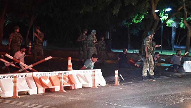 Военный переворот в Турции (ОНЛАЙН ТРАНСЛЯЦИЯ)
