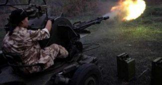 Страшный бой под Авдеевкой! Украинские ВДВшники крошат российских террористов (ВИДЕО)