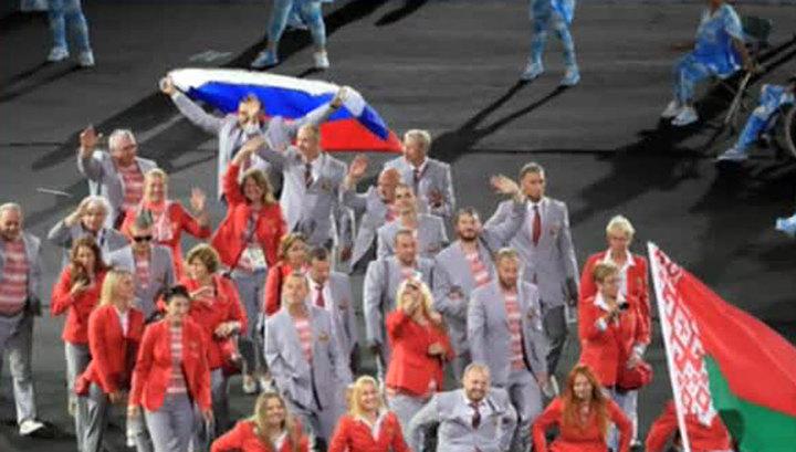 СКАНДАЛ! Беларусь могут дисквалифицировать с Параолимпиады из-за того, что на открытии делегация несла флаг России (ВИДЕО)
