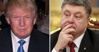 СРОЧНО! Порошенко провел телефонный разговор с Трампом
