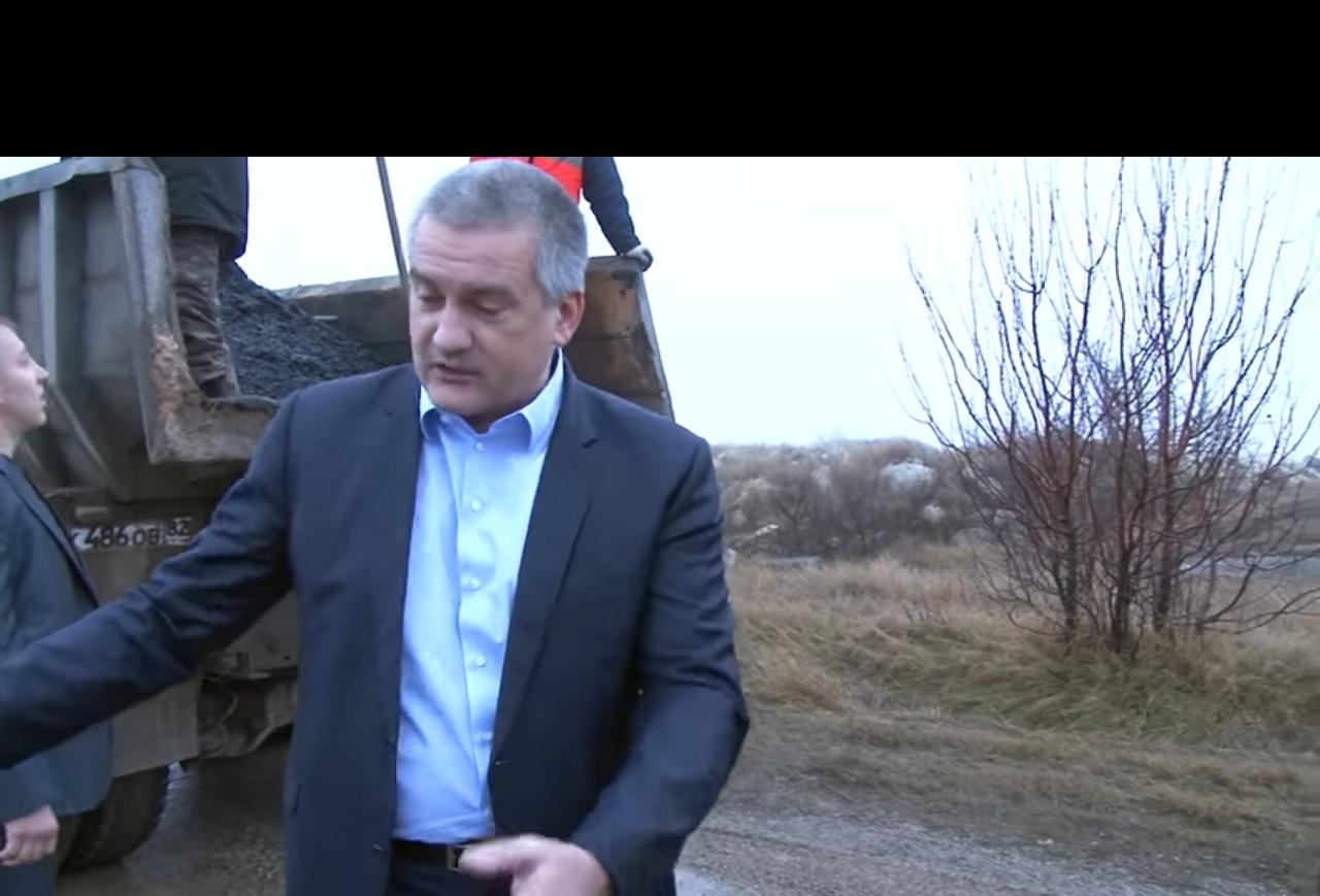 """""""Да идешь ты нах**, раскомандовался петушара! Зарплату выдай мудак!"""" - рабочие в Крыму послали Аксенова (ВИДЕО)"""