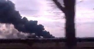 ЭКСТРЕННОЕ СООБЩЕНИЕ! Боевики обстреляли дорогу по которой эвакуировали людей из Авдеевки (ВИДЕО)