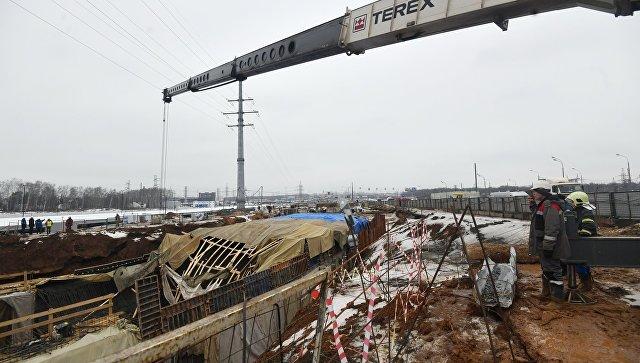 СРОЧНО! В Москве обрушился мост и тонель, под завалами ищут выживших