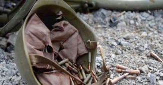 """Вечером силам АТО, после ожесточенного боя под Докучаевском удалось уничтожить развед группу """"ДНР"""""""