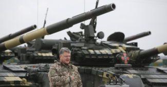 Порошенко уверил, что все танковые подразделения в полной боевой и готовы быстро вернутся на передовую