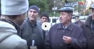 «Та идет твоя Россия на*уй как и ты сам мудак» — мужик из Донецка поставил на место провокационного журналиста-ватника (ВИДЕО)