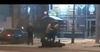 КАРМА! Царева в России избили возле ресторана «Колорадский папа» (ВИДЕО)